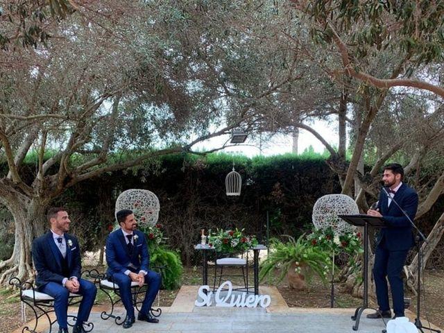 La boda de Fran y Santi en El Puig, Valencia 2