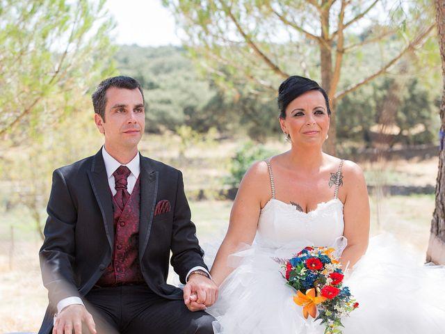 La boda de Juanma y Verónica en Segura De Leon, Badajoz 17