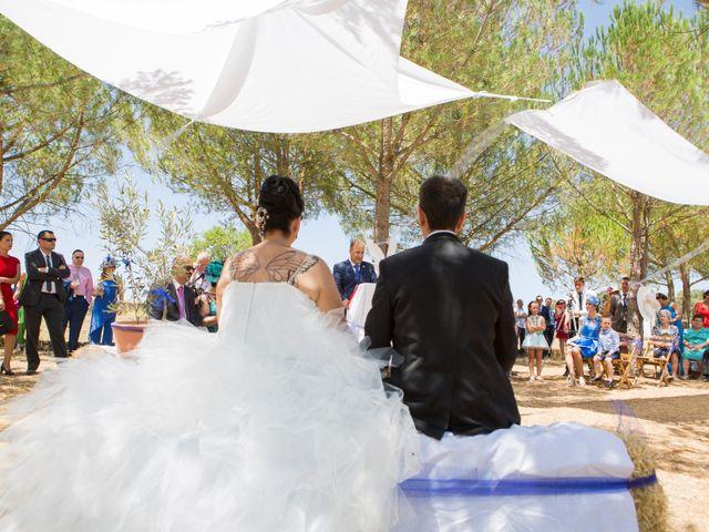 La boda de Juanma y Verónica en Segura De Leon, Badajoz 18