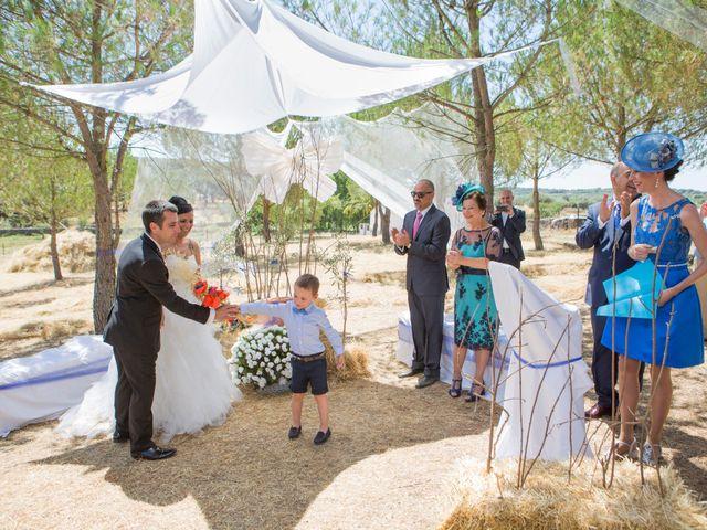 La boda de Juanma y Verónica en Segura De Leon, Badajoz 22