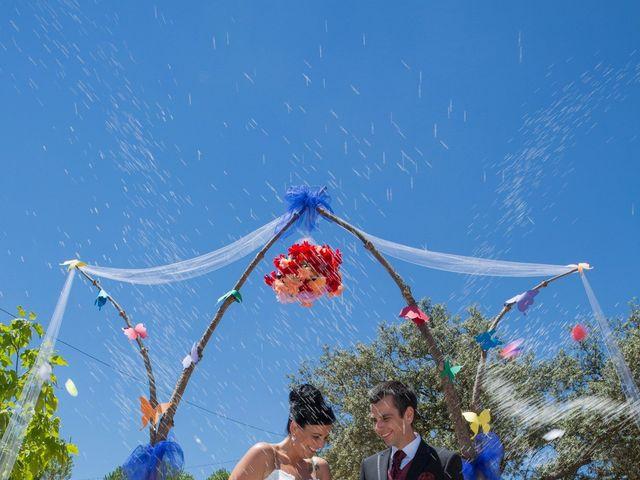 La boda de Juanma y Verónica en Segura De Leon, Badajoz 25