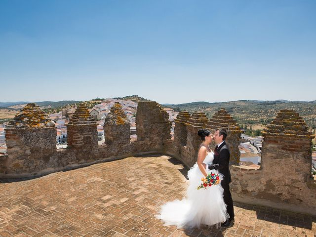 La boda de Juanma y Verónica en Segura De Leon, Badajoz 26