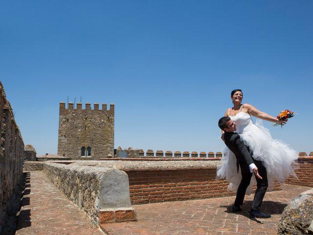 La boda de Juanma y Verónica en Segura De Leon, Badajoz 29