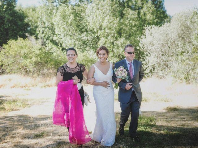 La boda de Juampe y Isabel en Pinilla Del Valle, Madrid 28