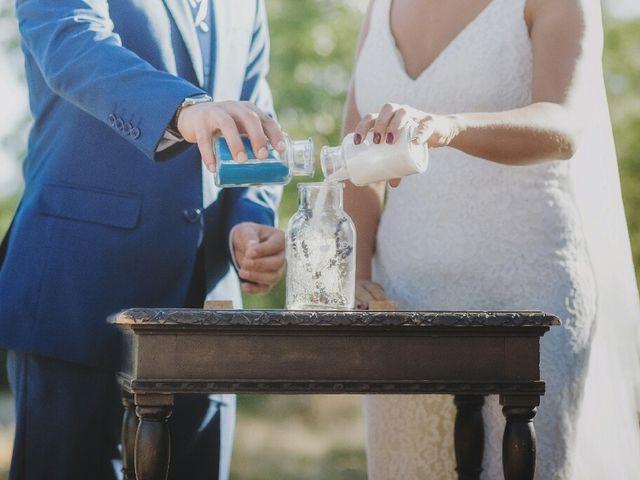 La boda de Juampe y Isabel en Pinilla Del Valle, Madrid 38