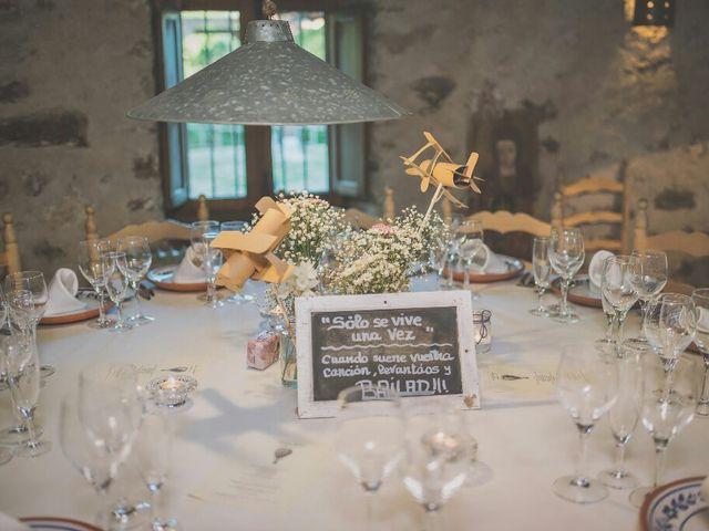 La boda de Juampe y Isabel en Pinilla Del Valle, Madrid 59