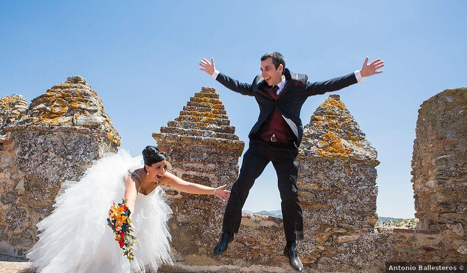 La boda de Juanma y Verónica en Segura De Leon, Badajoz