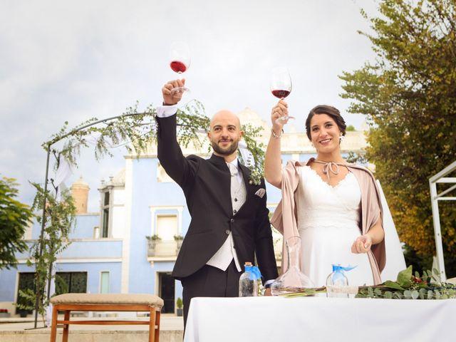 La boda de David y Andrea en Villena, Alicante 20