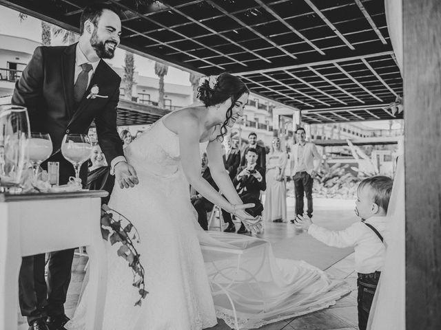 La boda de Fernando y María del Carmen en El Cabo De Gata, Almería 96