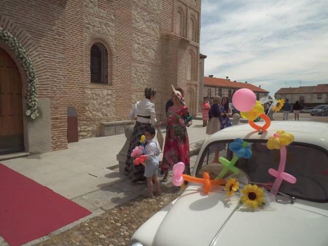 La boda de David y Silvia en Arevalo, Ávila 1