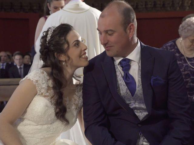 La boda de David y Silvia en Arevalo, Ávila 23