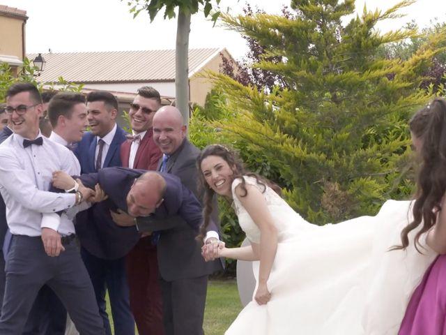La boda de David y Silvia en Arevalo, Ávila 50