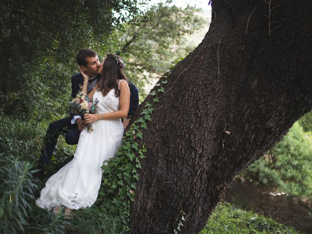 La boda de Mònica y Pau