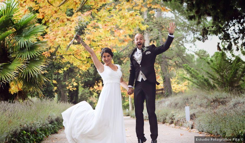 La boda de David y Andrea en Villena, Alicante