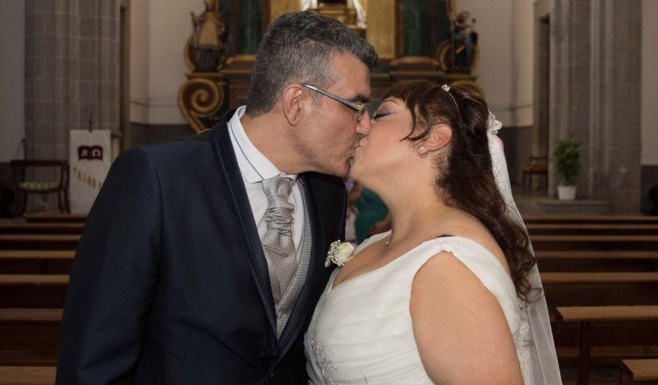 La boda de J.David y M.Luisa en Telde, Las Palmas