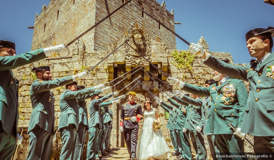 La boda de Miguel y Ana en Soutomaior, Pontevedra