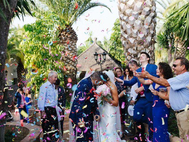 La boda de Fernado y Lorena en Alhaurin El Grande, Málaga 41