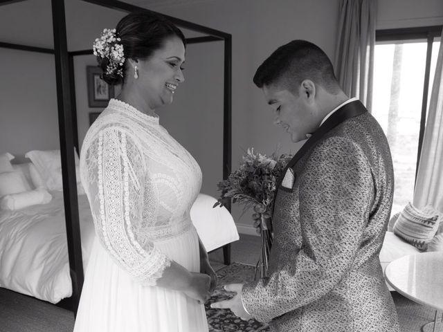 La boda de Aridany Ramos Vega  y Ana María Suárez Gutiérrez  en Arucas, Las Palmas 1