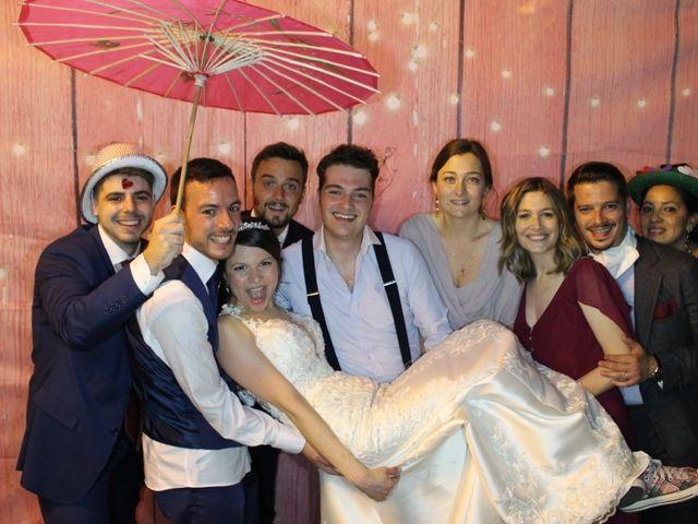 La boda de Lorenzo y Oriana en Madrid, Madrid 1