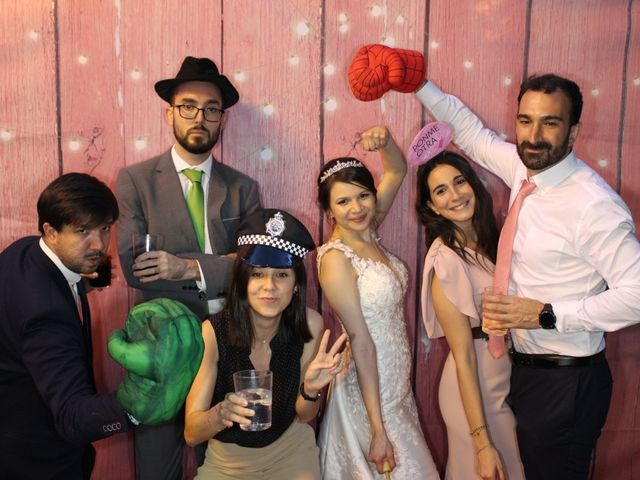 La boda de Lorenzo y Oriana en Madrid, Madrid 2