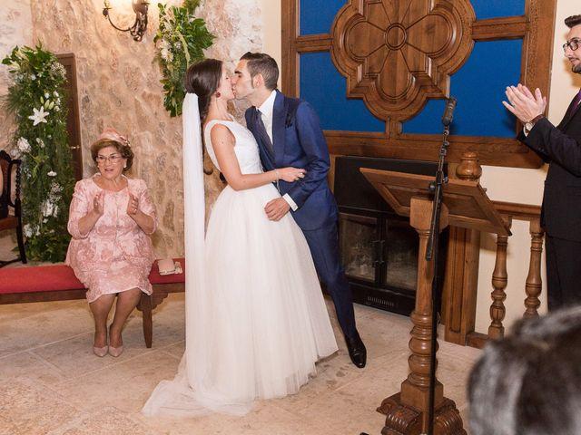 La boda de Alberto y María en Belmonte, Cuenca 10