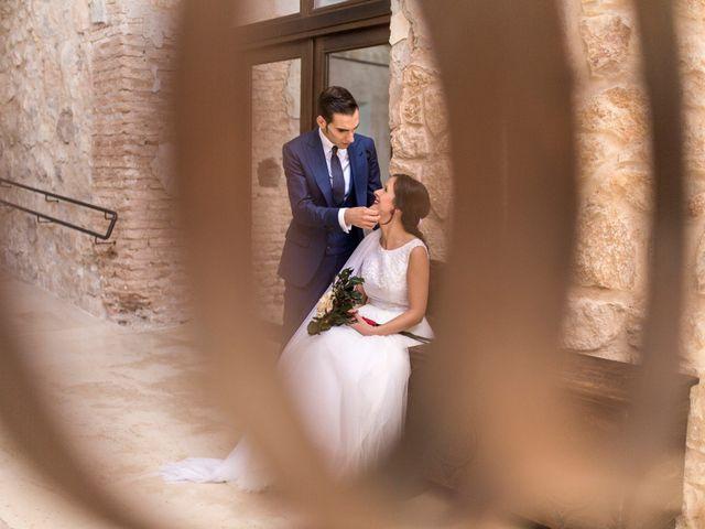 La boda de Alberto y María en Belmonte, Cuenca 26