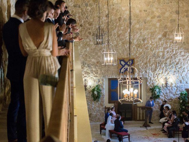 La boda de Alberto y María en Belmonte, Cuenca 30