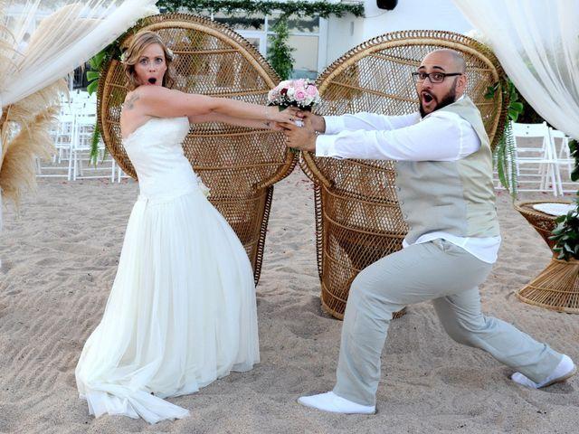 la boda de arnau y jessica en malgrat de mar, barcelona - bodas