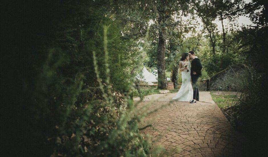 La boda de Josué y Sara en Jarandilla, Cáceres