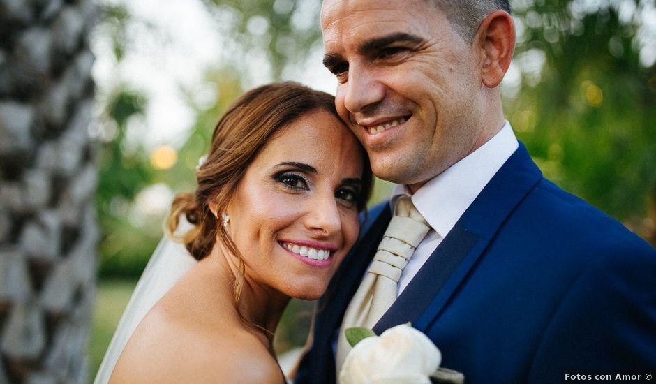 La boda de Fernado y Lorena en Alhaurin El Grande, Málaga