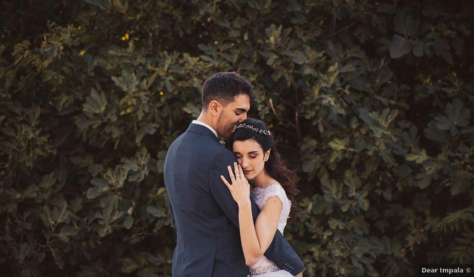 La boda de Borja y Natalia en Corcoles, Guadalajara