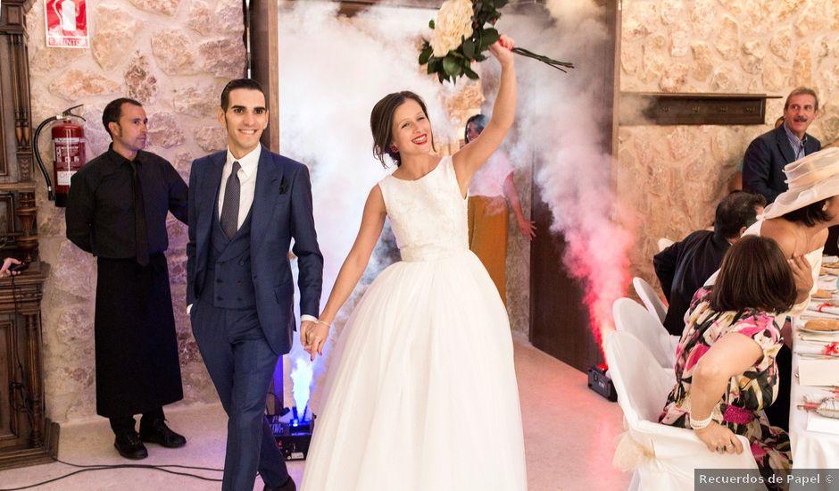 La boda de Alberto y María en Belmonte, Cuenca