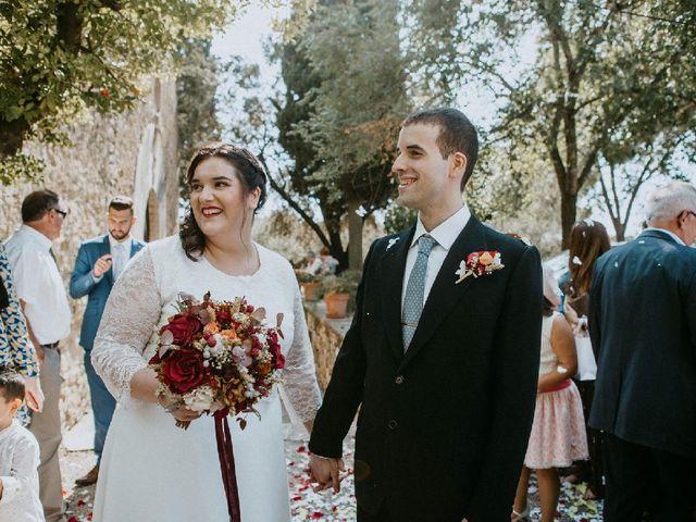 La boda de Marc y Lídia en La Selva Del Camp, Tarragona 1