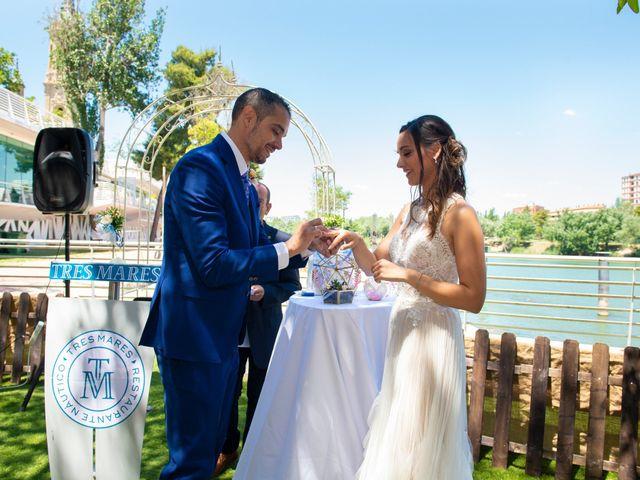 La boda de Emilio y Azahara en Zaragoza, Zaragoza 16