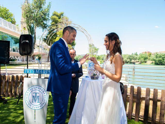 La boda de Emilio y Azahara en Zaragoza, Zaragoza 17