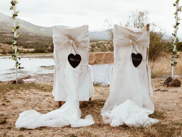 La boda de Adrián y Mónica en Pinilla Del Valle, Madrid 20
