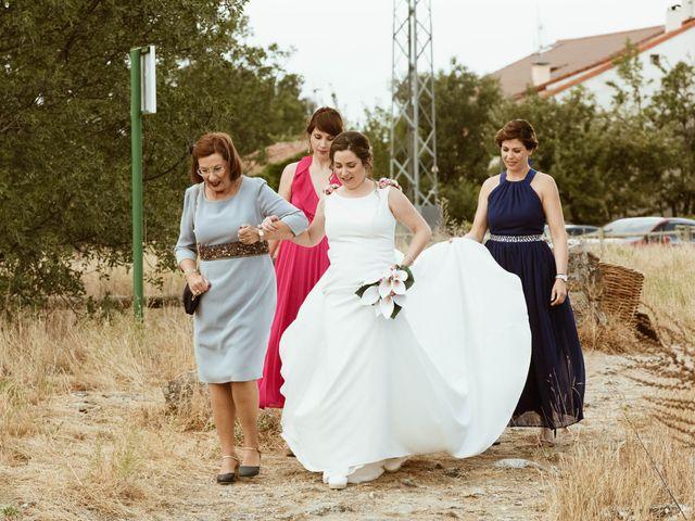 La boda de Adrián y Mónica en Pinilla Del Valle, Madrid 22