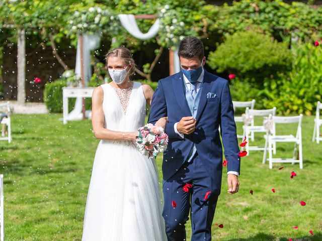 La boda de Daniel y Lorena en O Bidueiro (Ordes), A Coruña 18