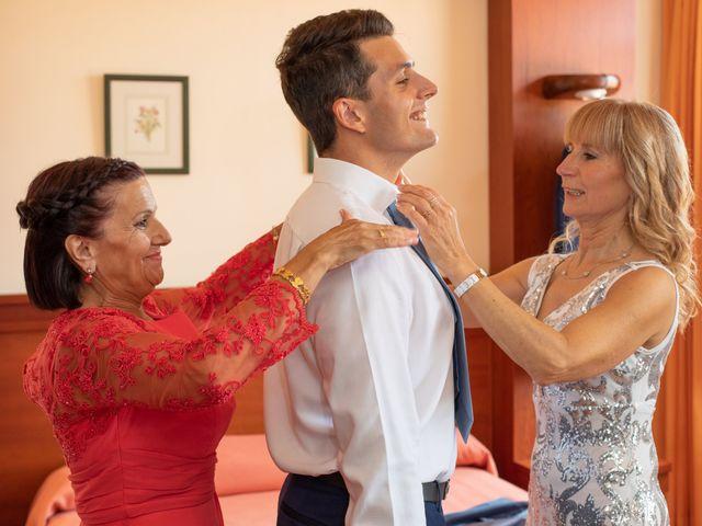 La boda de Daniel y Lorena en O Bidueiro (Ordes), A Coruña 3