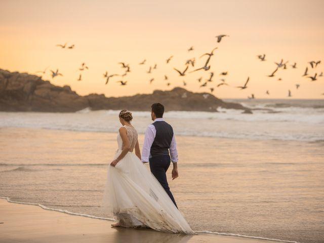 La boda de Daniel y Lorena en O Bidueiro (Ordes), A Coruña 2