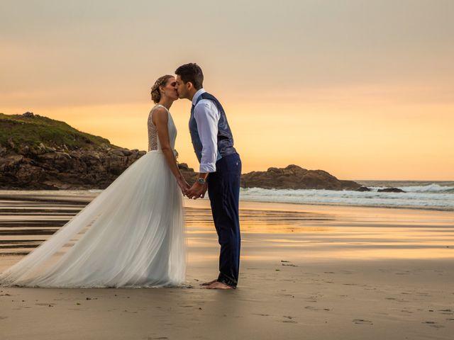 La boda de Daniel y Lorena en O Bidueiro (Ordes), A Coruña 48