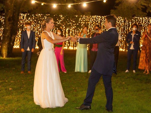 La boda de Daniel y Lorena en O Bidueiro (Ordes), A Coruña 31