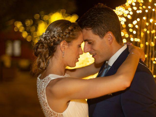La boda de Daniel y Lorena en O Bidueiro (Ordes), A Coruña 1