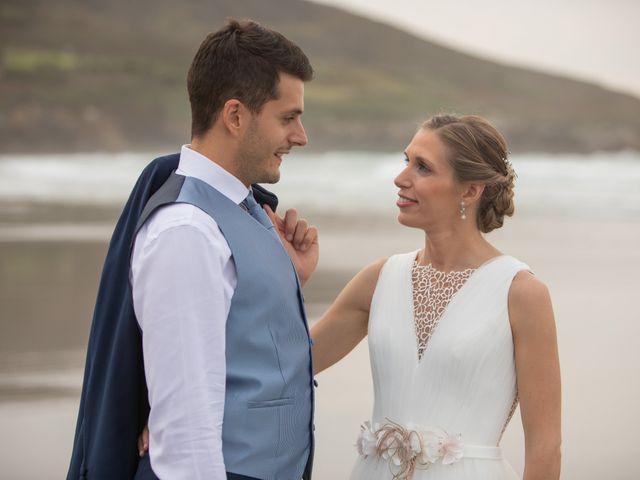 La boda de Daniel y Lorena en O Bidueiro (Ordes), A Coruña 38
