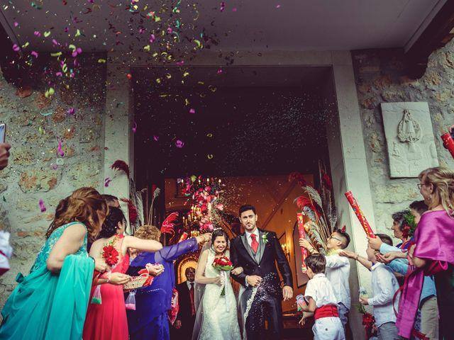La boda de Eduardo y Cristina en Valdilecha, Madrid 1