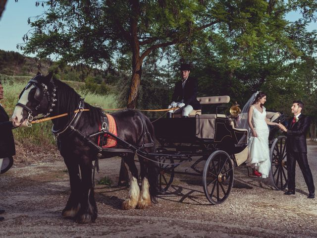 La boda de Eduardo y Cristina en Valdilecha, Madrid 2