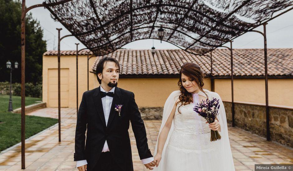 La boda de David y Andrea en Rubio, Barcelona