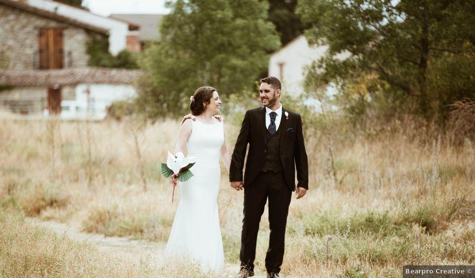 La boda de Adrián y Mónica en Pinilla Del Valle, Madrid