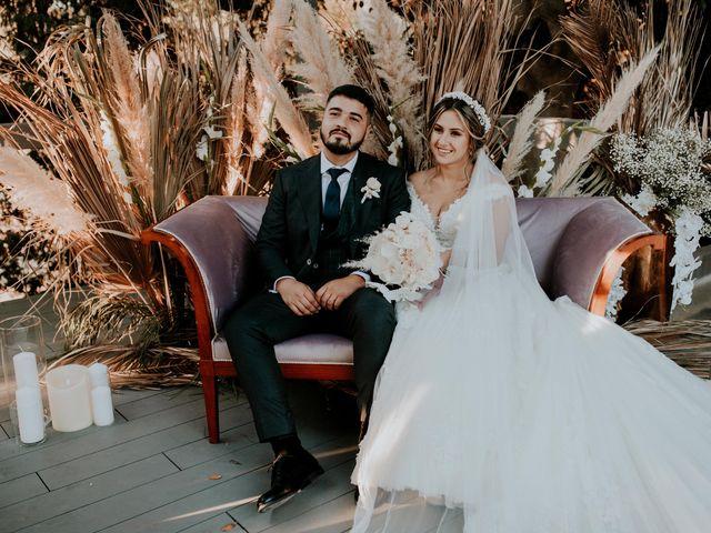 La boda de Alina y Darius