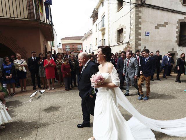 La boda de Alfonso y Beatríz en Corera, La Rioja 5